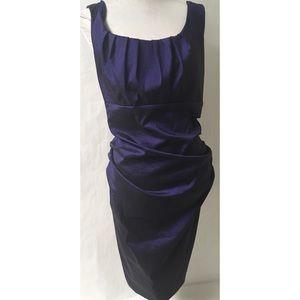 Dresses & Skirts - Blue Evening Dress Size 8